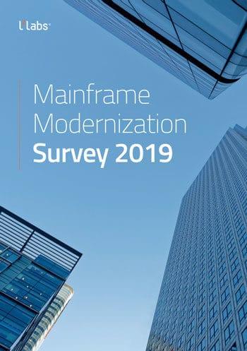 Studie zu Mainframe-Anwendungen: Mainframe Modernization Survey 2019