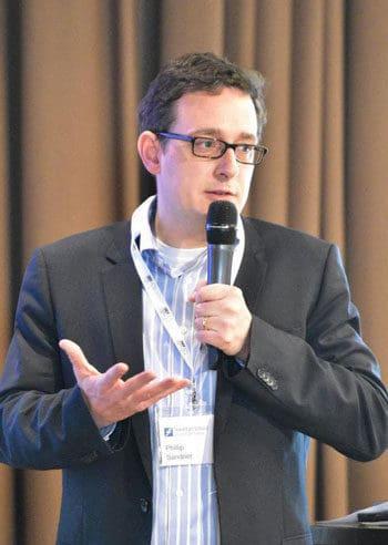 Unterrichtet zu Kryptowährungen: Philipp Sandner, Professor der Frankfurt School of Finance & Management und Leiter des Frankfurt School Blockchain Center