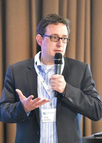 Professor Dr. Philipp Sandner, Leiter Frankfurt School Blockchain Center