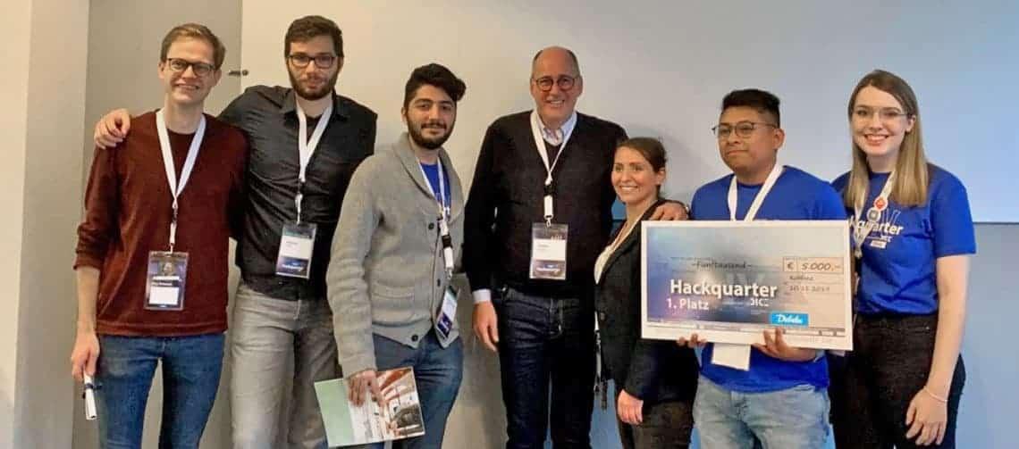 Die Gewinner des Debeka-Hackathons
