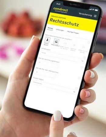 comdirect will Versicherungen auf dem Smartphone abschließen lassen