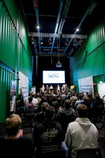 Die Collabothon-Pitches in cooler Umgebung