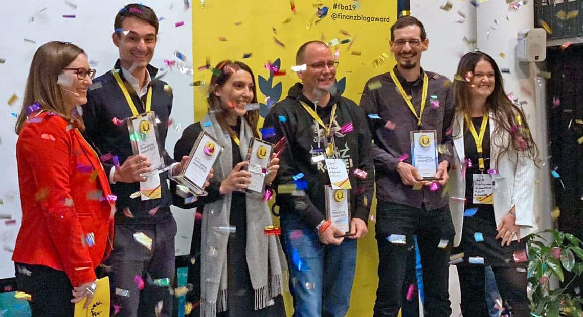 Preisverleihung auf der FinTech Week: Der Finanzblog Award der comdirect