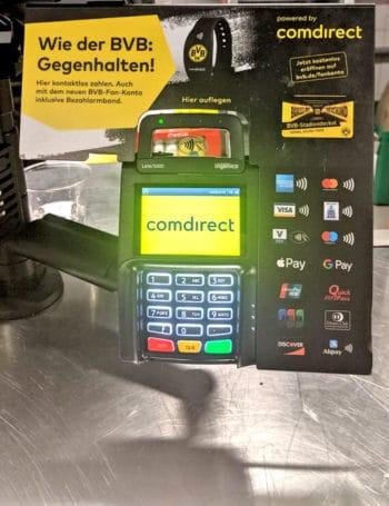 Payment im BVB Stadion