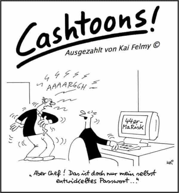 Cashtoons von Kai Felmy
