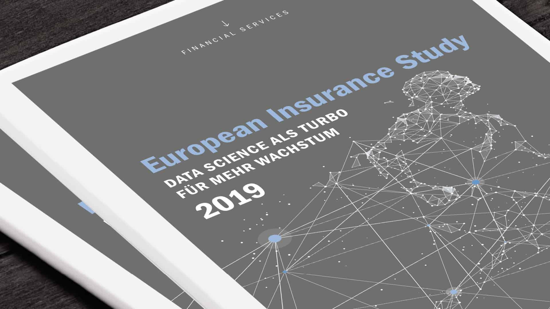 europäische Studie Versicherungen digital Digitalisierung data science
