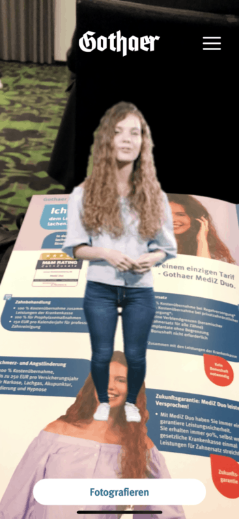Augmented Reality auf der InnoVario