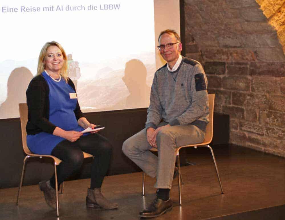 Kilian Retter von der LBBW lebt das KI-Thema in der Praxis