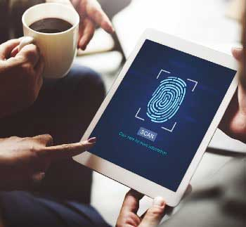 Authentifizierung per Fingerprint
