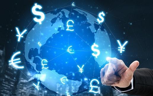 Geldtransfer p2p Übertragung Währung Geld Versenden