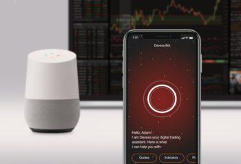 Aktienhandel per Smartphone oder über Smart Speaker ermöglicht der Chatbot Devexa. Quelle: Devexperts