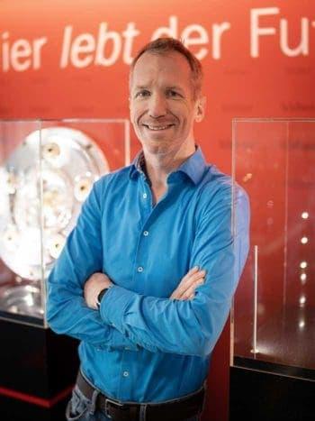 Dani Mohr, Leiter Software-Entwicklung kicker<q>kicker</q>
