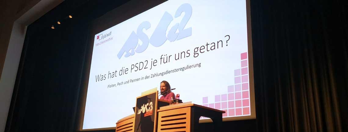 36C3-Vortrag Was hat die PSD2 je für uns getan?