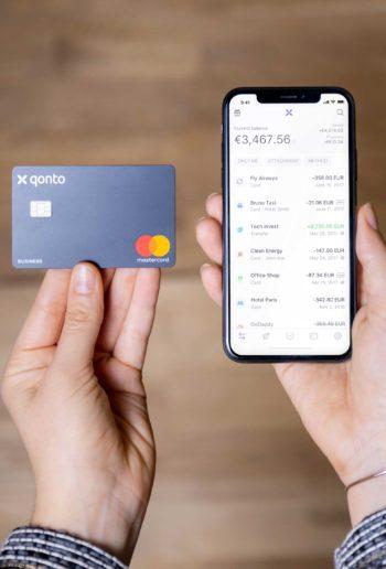 Typisch NeoBank: Qonto will mit Kreditkarte und App punkten