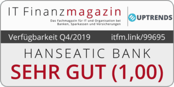 Online-Banking-Verfügbarkeit der Hanseatic Bank