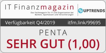 Online-Banking-Verfügbarkeit von Penta