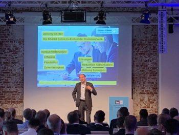 Vortrag: Nikolaus von Wuthenau, Bereichsvorstand Group Delivery Center der Commerzbank