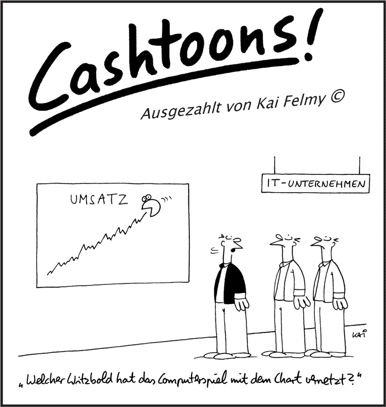 Cashtoons - Kai Felmy - Clevere Vernetzung