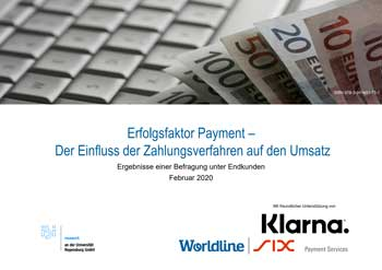 ibi research Payment Studie