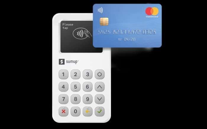 SumUp Kartenterminal mit Mastercard
