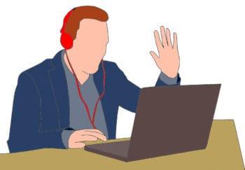 Wenn man sich nicht mehr treffen kann, können Beratungsgespräche stattdessen online geführt werden. <q>Mohamed Hassan/Pixabay