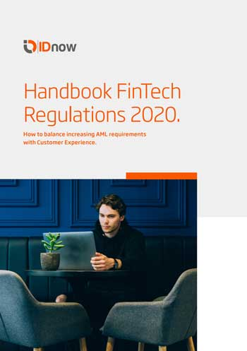 "IDnow-Ratgeber veröffentlicht: ""Handbook FinTech Regulations 2020 - How to balance customer experience with increasing AML requirements"""