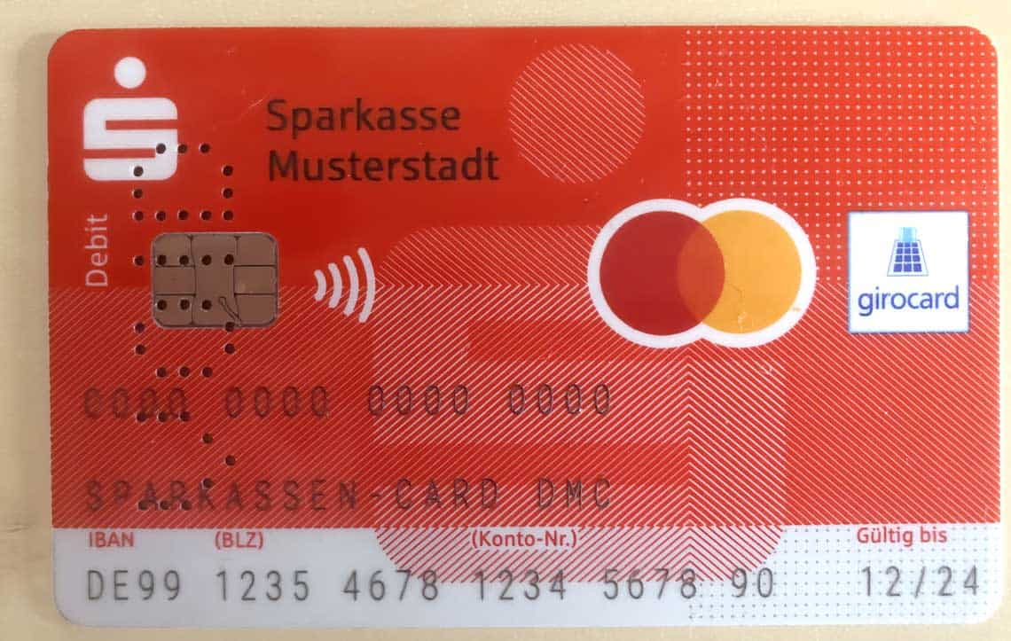 Sparkasse Debit Card