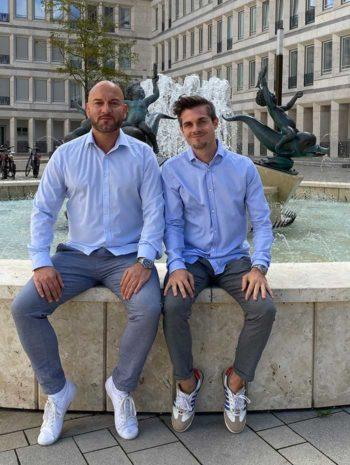 UnitedCrowd-Gründer Michael Göymen und André Wendt
