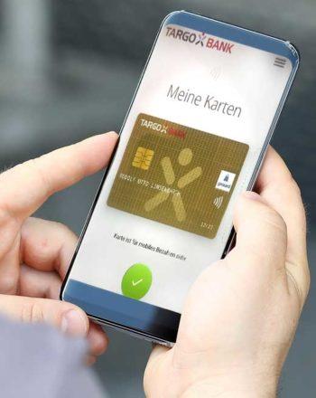 girocard in der Targobank-App