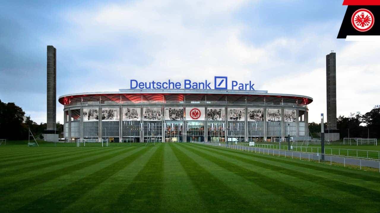 Deutsche Bank Park: So könnte das Frankfurter Stadion schon bald aussehen. <q>Eintracht Frankfurt