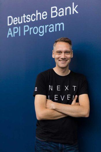 Joris Hensen, verantwortlich für das API Programm und Open Banking bei der Deutschen Bank<q>Deutschen Bank