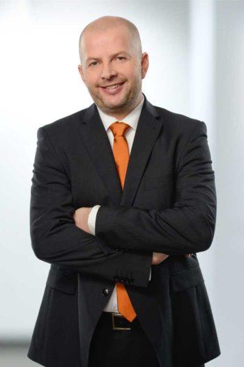René Schinke, Vorstand der VR-Bank Memmingen.