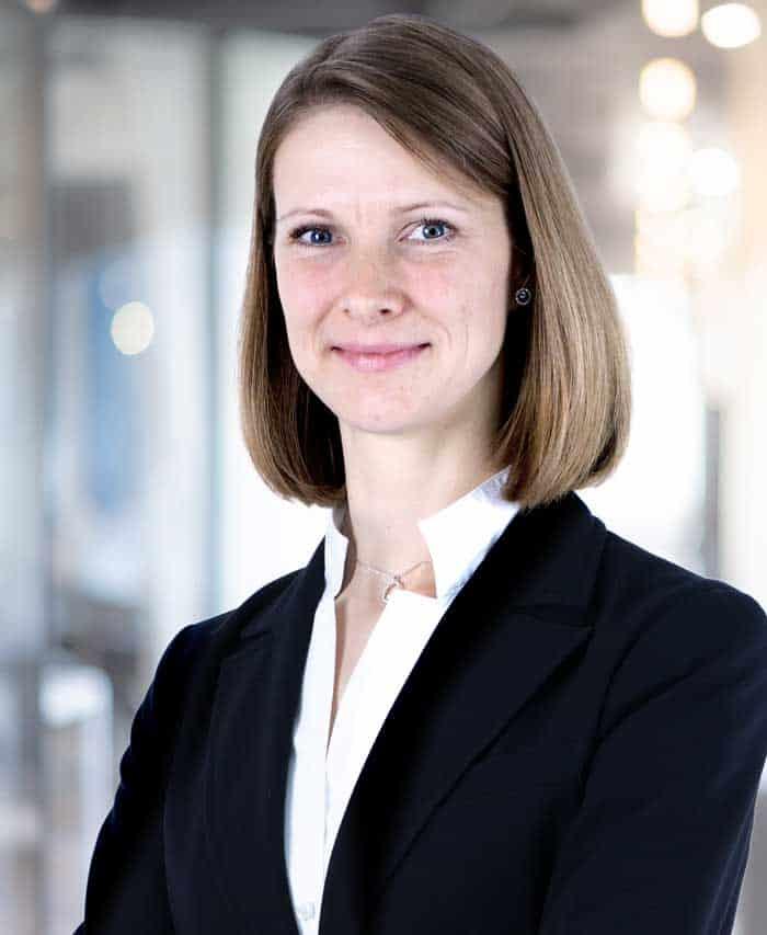 Caroline Jenke, Chief Legal Officer FinTecSystems