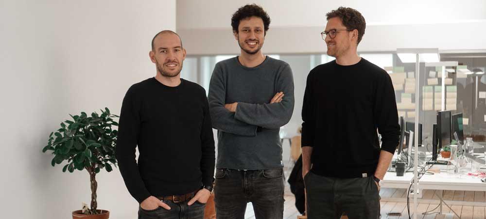 Die Tomorrow-Gründer: Michael Schweikart, Inas Nureldin, Jakob Berndt