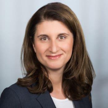 Fabiana Mingrone, Geschäftsleiterin für den Privatkartenbereich der Amex (American Express)