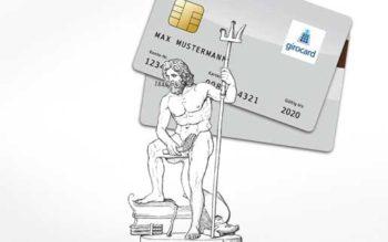 Die girocard und Poseidon