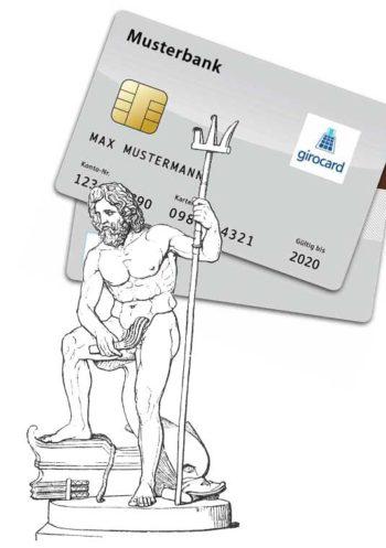 Poseidon ist für die girocard unverzichtbar