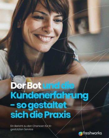 Freshworks Studie zum Umgang mit Chatbots