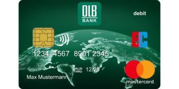 Debit Mastercard, Oldenburgische Landesbank