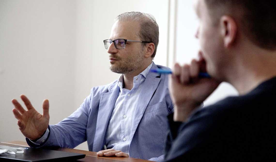 Greg Dimitriou ist Billfront-Gründer und CEO