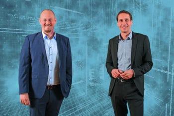 Fabian Harms (li.) und Pirmin Dangelmaier (re.) <Q>SparkassenVersicherung