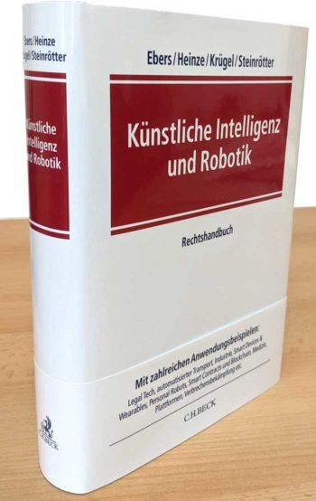 """Buchtipp: """"Künstliche Intelligenz und Robotik"""" - Rechtsgrundlagen mit vielen Anwendungsbeispielen"""