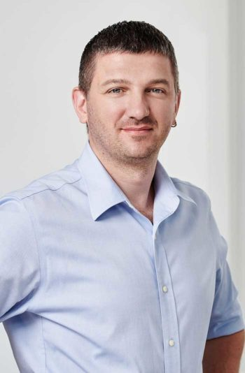Dmitry Kharchenko , neuer CTO von Friendsurance