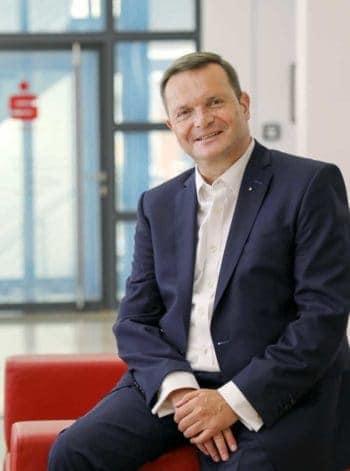 Experte für Kundenbindung Thomas Lützelberger, Vorstandsvorsitzender der Sparkasse Schwäbisch Hall - Crailsheim <q>Sparkasse Schwäbisch Hall - Crailsheim