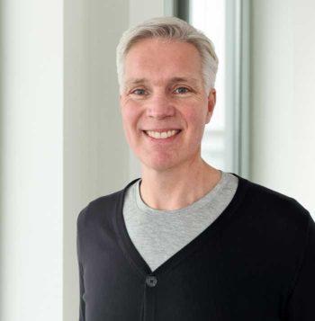 Dritter im Bunde: Geschäftsführer Martin Tobies