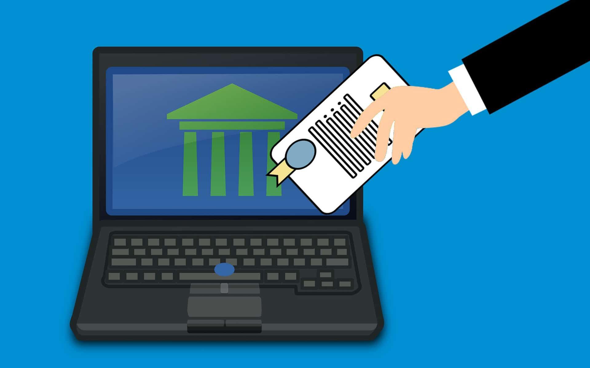 Die eindeutig festgestellten und bestätigten Identitäten der kontoführenden Banken sind Grundlage des Dient-Verfahrens SRS Bank. <Q>Mohamed Hassan, Fernando Mendoza / Pixabay