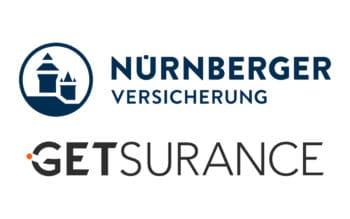 Die Nürnberger steigt in das insolvente Insurtech Getsurance ein. <Q>Nürnberger Versicherungen / Getsurance