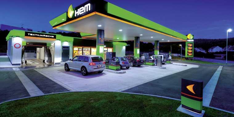 pay@pump an HEM-Tankstellen