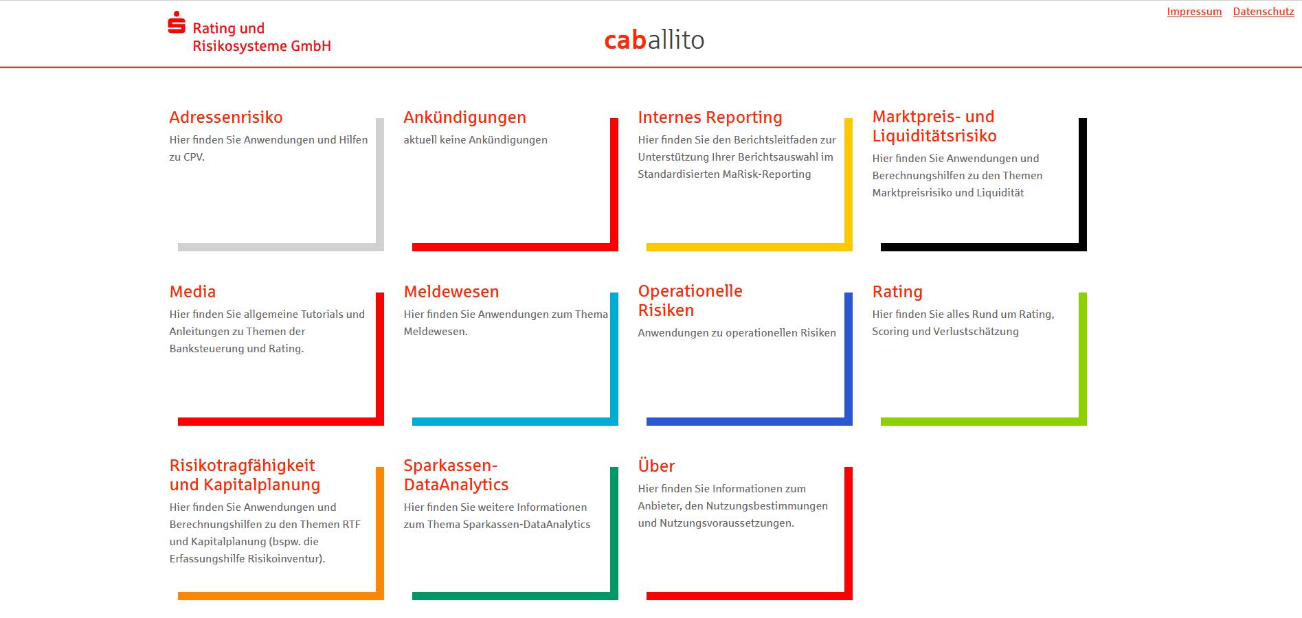 Caballito Startseite
