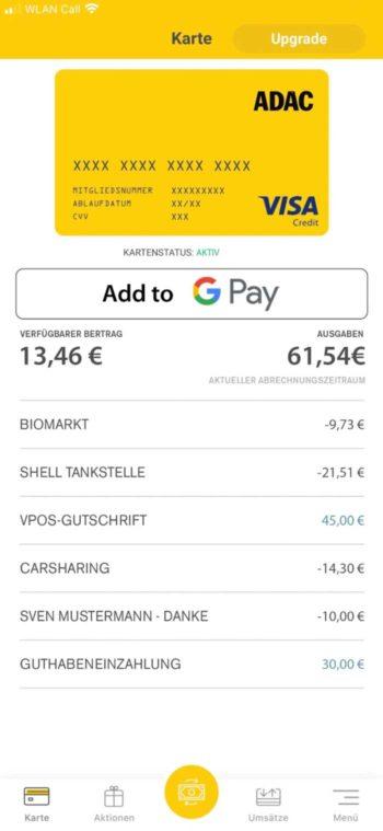 ADAC Pay App